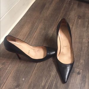 Christian Louboutin black pigalle heels